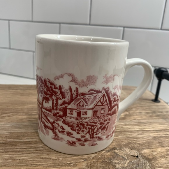 Churchill Red Willow Coffee Mug Made in England